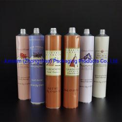 Tubo plegable de aluminio liso suave de compresión de 99,7% de pureza impresión personalizada