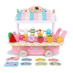 Pretender madera soporte de Caramelo Helado de juguetes para niños el aprendizaje educativo 33 Pack juguetes niños Juguetes Bebés varones extraíble con caja de almacenamiento