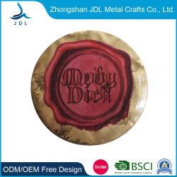 China Günstige Customized Neue Werbe-Kunststoff-Bettchen Presse Punch Cut Maschine Schlüsselanhänger Gedruckt Zinn-Knopf Abzeichen