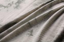 タイによって染められる編む衣服ファブリックが付いている多レーヨンスパンの肋骨
