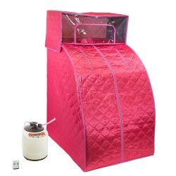 Portátil mini sauna de vapor con sombrero