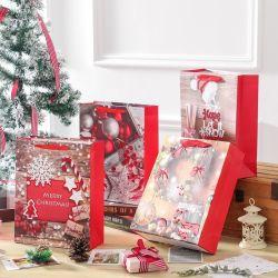 المصنع السعر المباشر نقّال فضلات مخصصة عيد الميلاد هدية تسوق حقائب ورق