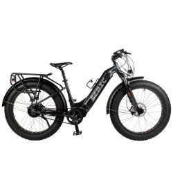 All Terrain Grande Potência Elevada Bafang Desempenho Motor do cubo 750W dupla bateria 17,5ah 14ah passo a mulher Fat bicicleta eléctrica