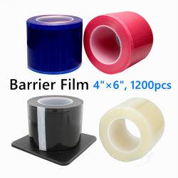 ユニバーサル保護入れ墨シートの障壁のフィルムの黒の青いピンクの明確な付着力の使い捨て可能な歯科障壁のフィルム