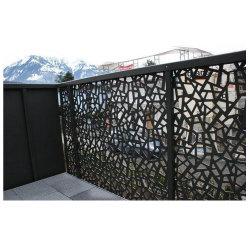 맞춤형 벽 판금 레이저 절단 부품 장식용 금속 프라이버시 실외용 화면 파티션