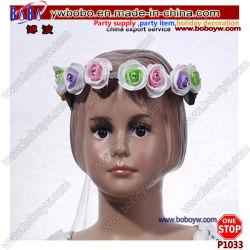 Neuheit-Geschenk-Rosen-Stirnband-Tanz-Produkt-Haar-Zubehör-Geburtstag-Geschenk passte die eingestellten Schmucksachen an (P1033)