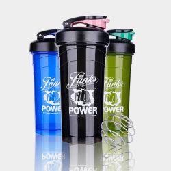 De populaire Beste Verkopende Fles van de Schudbeker van Botter van het Water van de Sporten van Producten met Handvat