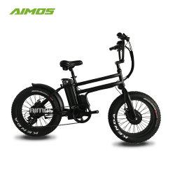 2017 جديدة تصميم [20ينش] إطار العجلة سمين درّاجة كهربائيّة مع يثنّى محرّك عربة كهربائيّة