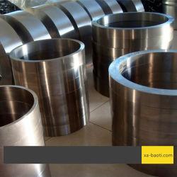 Fábrica OEM personalizar la aleación de titanio forjar el anillo