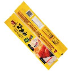 Impresos personalizados resellables de plástico suave cebo cebo de pesca de peces de Embalaje Embalaje bolsa con cierre de cremallera