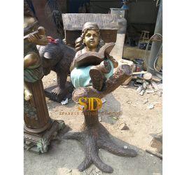 الصين [فكتوري بريس] عالة - يجعل طفلة [برونز سكولبتثر] لأنّ حديقة زخرفة