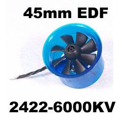 Edf Plus HL4508 2422-6000Moteur Brushless kv 45mm Système d'alimentation du ventilateur du FED canalisés