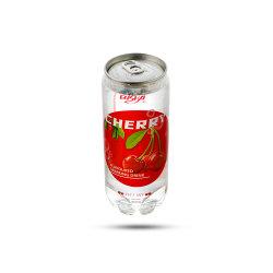 Private Label sabor cereza Natural 350ml de zumo de un 0% de Refresco con bebida baja en azúcar