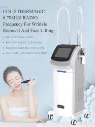 6.78MHz frequência de rádio RF Thermagic fracional de rejuvenescimento da pele Non-Needle RF Puxador de refrigeração Home Use Máquina de beleza