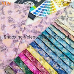 New Arrival Guaranteed Quality stoffering Bank Bekleding meubels Home Textiel Polyester Velvet kleurrijke folie stof Africa Style