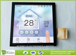 전기 용량 접촉 사각 LCD 디스플레이 4.0 인치 480 x 480 IPS 지능적인 홈 86 상자