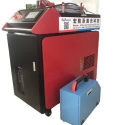 Heiße Verkäufe 1000W CNC-Laser-Schweißausrüstung 1500W 2000W Löten Maschine Handheld Wobble Head Laser Welding Machine mit Auto Wire Zuführsystem