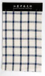 Zmyd 1216 L21*L21 tecido de linho puro linho Padrão Verificado vários produtos têxteis