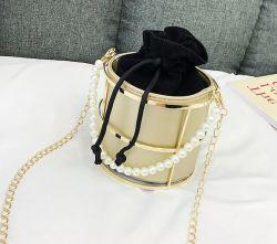 인기 있는 디자인 패션 레이디 바스켓 체인 클러치 핸드백 핫 셀 핸드백