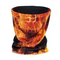 Toebehoren van het Toestel van Bandana van het Masker van de Hals van de Polyester van de Sjaals van de Wandeling van de Camouflage van de hoog-sprong de Militaire Wind Warmere Anti UV Tactische