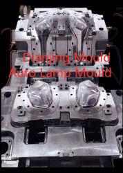 Moldes de injeção de plástico Lâmpada automático das luzes do carro do molde Molde Cor de duplo casco do Farol