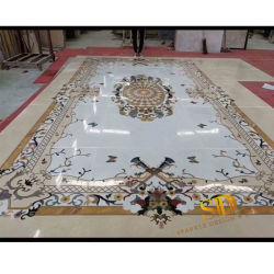 De naar maat gemaakte Medaillons van de Vloer van het Medaillon Vierkante Marmeren voor de Decoratie van de Vloer van de Ingang/van de Hal