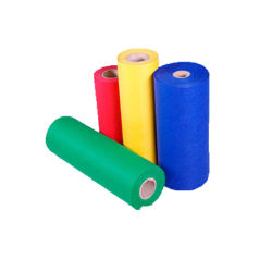 Buntes TNT 100% Polypropylen Spinnvlies Stoff Rollenmaterial