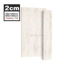 2cm Piscina al aire libre de mosaico de madera antideslizante