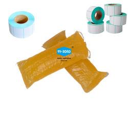 غطاء ممتاز مقاومة للحرارة ملصق بلاستيكي ملصق ساخن صمغ