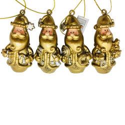 수지 산타클로스 작은 전통적인 장신구를 거는 OEM 포도 수확