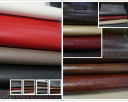 PU/PVC synthetisch kunstleer voor meubelstoffen Textielbekleding