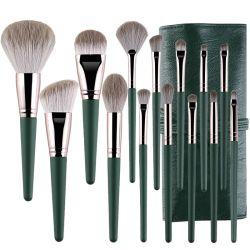 Vendedor de topo suave de pêlos sintéticos Professional 14PCS Escovas de Maquiagem personalizada Cosmetica produto de beleza
