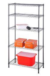 5 livelli Ufficio portatile / cucina / balcone / magazzino scaffale Scaffalatura in filo metallico