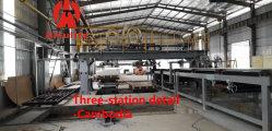 Placa de yeso/máquina de hoja de la junta de fibra de cemento de la pared de partición de la máquina de hoja