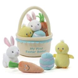 Cesta de la Pascua Pascua Playset de bebé decoraciones de fiesta