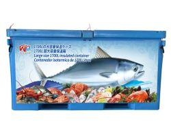 1700L Ice Box para mantener el gran pez fresco y frío