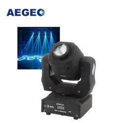 새로운 3 3배 프리즘 효력 DJ는 가벼운 소형 60W LED 반점 이동하는 헤드를 상연한다