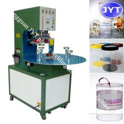 أنبوب المصنع ماكينة لحام غطاء أنبوب بلاستيكي ماكينة لحام بالموجات فوق الصوتية ماكينة صناعة صندوق أسطوانة PVC ماكينة تصنيع اسطوانات