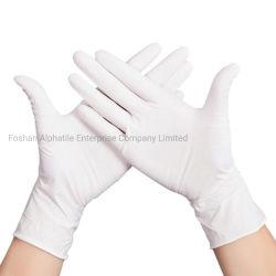Prodotto protettivo di Prowdered di sicurezza del lattice dei guanti del guanto libero a gettare della mano per la cucina/workshop/laboratorio