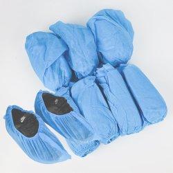 고품질 처분할 수 있는 파란 색깔 실험실 단화 덮개 보호 남녀 공통을%s 실내 방진 처분할 수 있는 단화 덮개