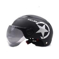 De modieuze Helm die van de Motorfiets van het Gezicht van het Gezicht van de Veiligheid Beschermende Halve Open de Elektrische Helm van de Fiets van de Bouwvakker van de Helm van de Fiets berijdt
