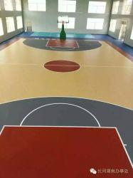 屋外スポーツフィールド表面のテニスのスポーツ裁判所