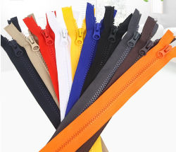 Hot Sell 100% High Quality Fashion Resines Zipper voor groothandel Van China Factory