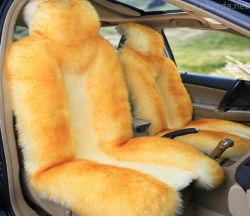 Длинные волосы, шерсть подушка Sheepskin мех автомобильный чехол сиденья