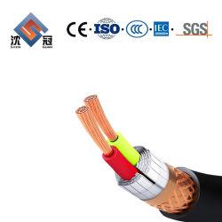 Shenguan 멀티 코어 플렉시블 XLPE 절연 PVC Sheath 알루미늄 호일 틴입니다 구리 편조로 차폐된/차폐된 제어 전기/전기 와이어 동력 전달 L
