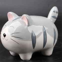 الخزف الخزف الخزف الخزف الخزف الخزف الخزف الخزف الخزف الخزف صندوق النقود الخزف على شكل قطة