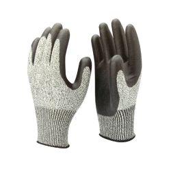 13G Silver шелк& Стекловолокно перчатки N-G1304