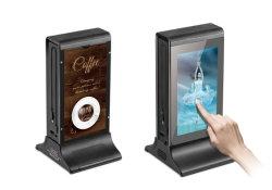 7 polegadas LCD Rede Android Tampo da solução de Digital Signage Menu Publicidade Banco de energia do monitor