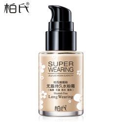 Foundation Fluid verbirgt Defekt und spendet Feuchtigkeit natürliche Nacktes Make-up Erhellen Hautton OEM ODM Schütteln Liquid Foundation