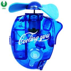 Portátil alimentado por batería de neblina de pulverización de agua Caliente Ventilador de refrigeración en verano Mini Abanicos